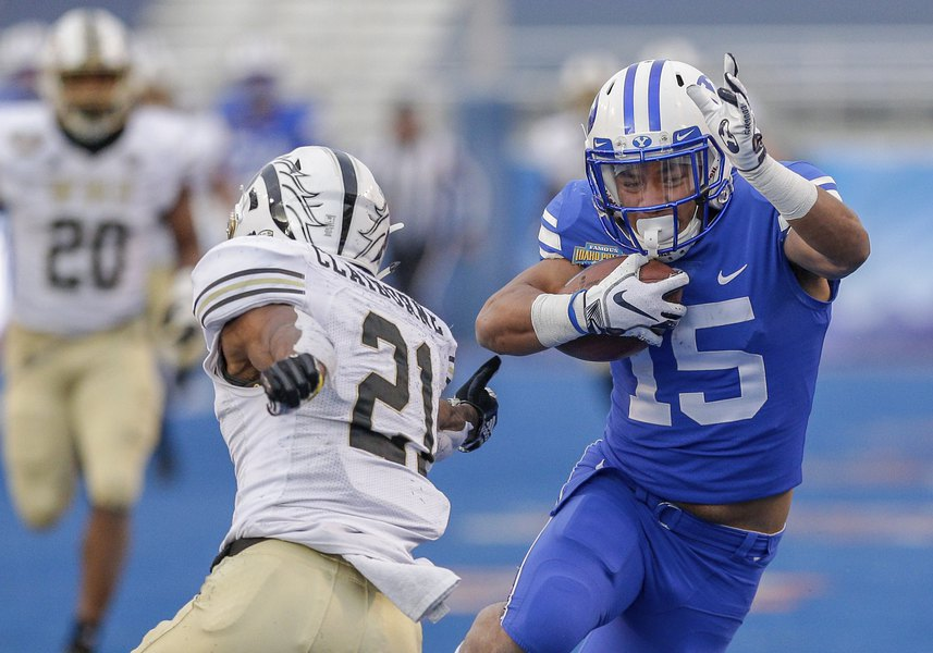 BYU was short on capable receivers, and that was before experienced rising junior Neil Pau'u was charged with drunken driving on campus