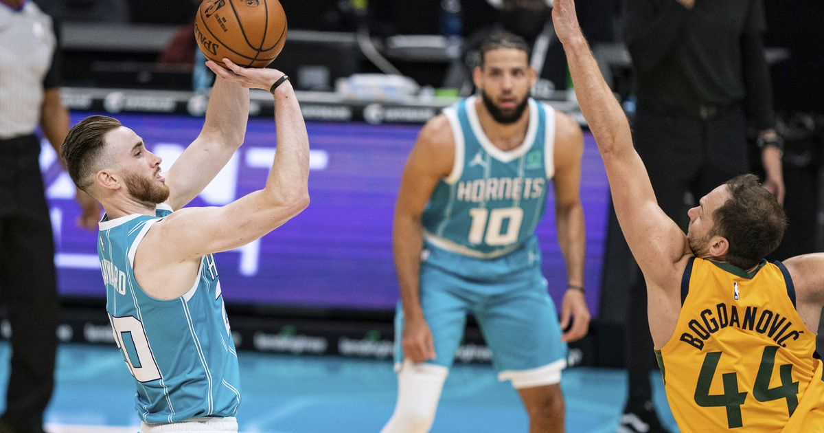 Utah Jazz happy that Gordon Hayward is enjoying 'clarity and comfort' with Hornets now