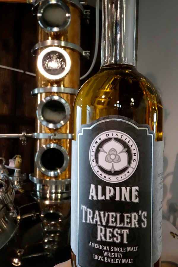 (Courtesy photo) Traveler's Rest, an American single malt whiskey produced by Alpine Distilling in Park City, received a double gold medal in the 2018 Best American Malt Whiskey awards.