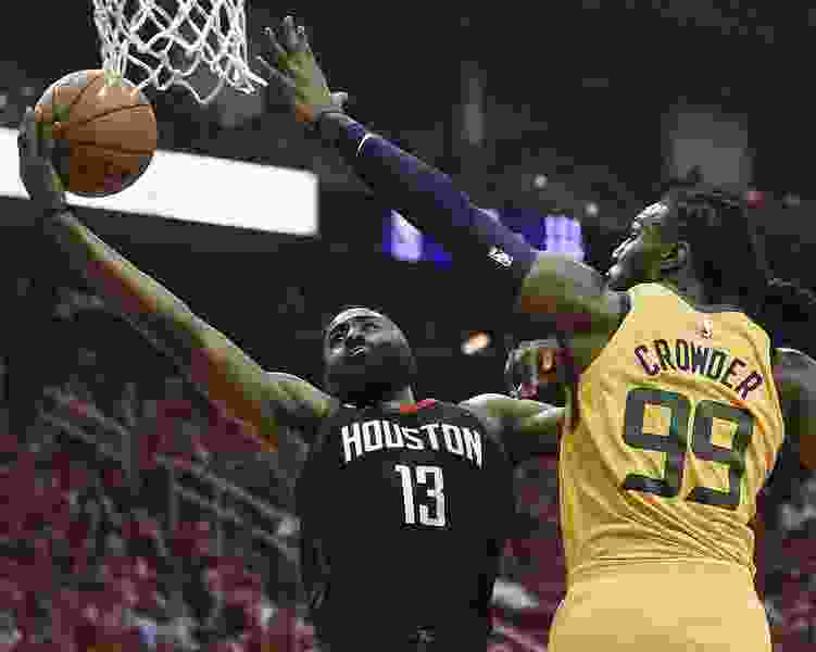 James Harden shows Jazz how tough he is to keep under wraps in Game 1