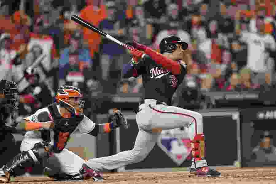 Soto, Nationals top Astros 5-4 in World Series opener