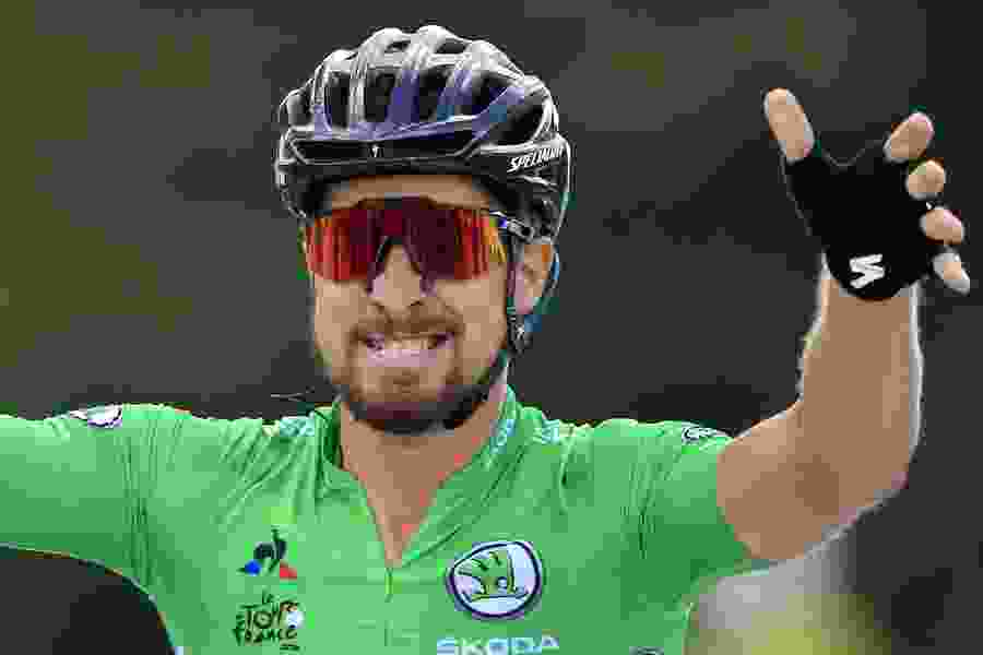 Sagan wins hilly Tour de France stage as Froome avoids trouble