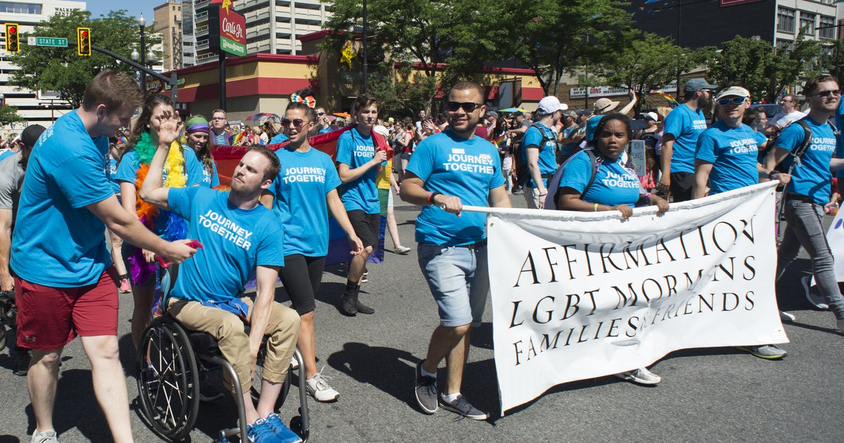 Mormon Land': Affirmation leaders discuss LDS donation, diversity
