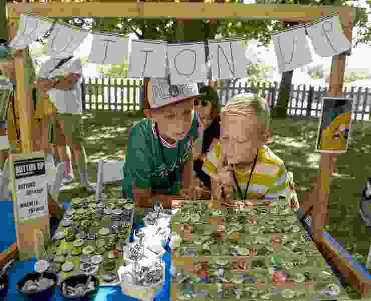 On Craft Lake City's Kid Row, Utah youngsters make and sell their creative products