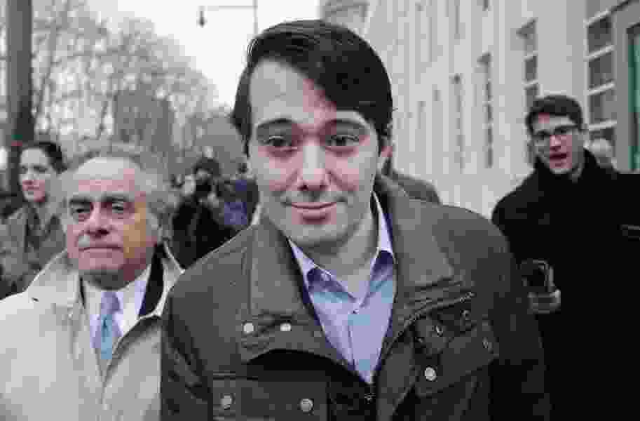 Pharma Bro Martin Shkreli jailed after offering online bounty for Clinton's hair