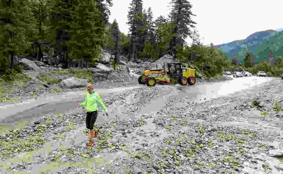 Little Cottonwood Canyon will be a one-lane road through Thanksgiving to make mudslide repairs