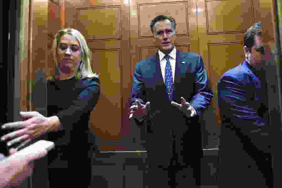 Tribune Editorial: Sen. Mitt Romney's mission: Trial first. Verdict afterwards.