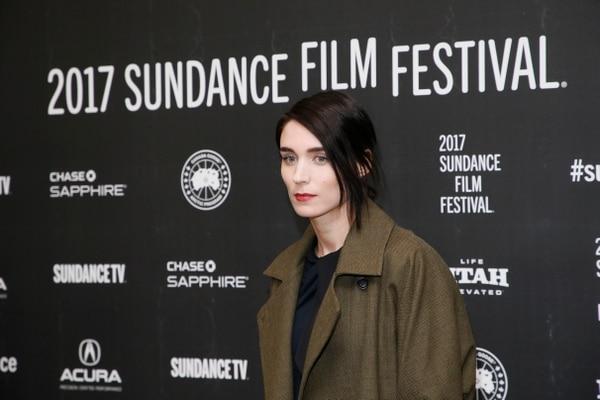 Actress Rooney Mara poses at the premiere of