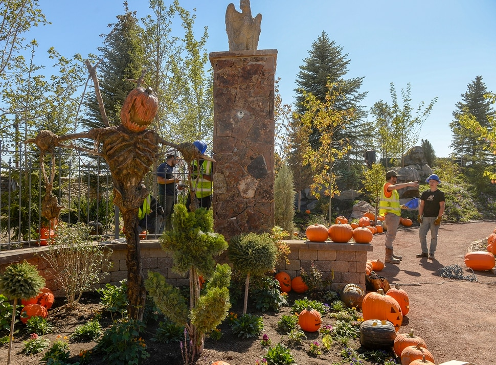 Leah Hogsten | The Salt Lake Tribune Evermore, a theme park in Pleasant Grove with an old-Europe fantasy atmosphere is having a soft opening on Saturday, Sept. 22, and an official grand opening on Sept. 29, 2018.