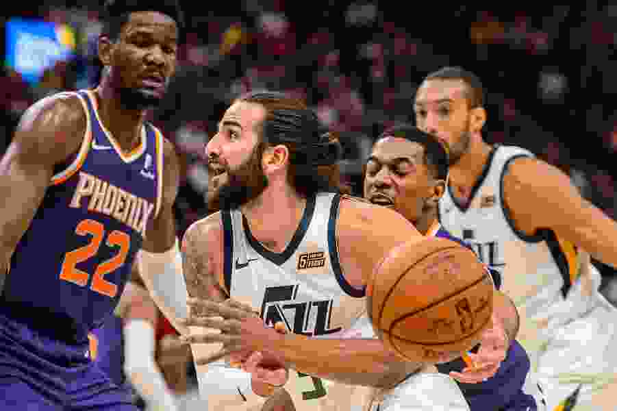 How healthy are the Jazz entering the playoffs? Join us in reading the tea leaves.
