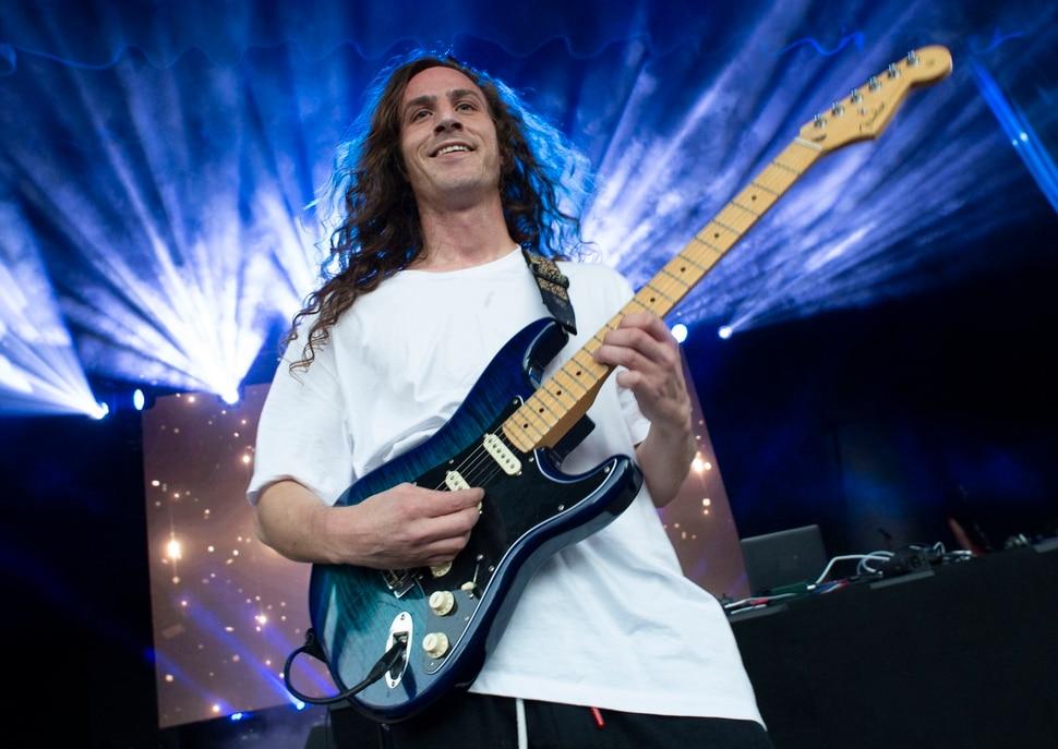 (Rick Egan | The Salt Lake Tribune) Hippie Sabotage performs at the twilight concert series, at the Gallivan Center, Saturday, July 20, 2019.