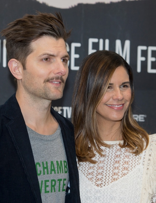 Leah Hogsten | The Salt Lake Tribune Producers Adam and Naomi Scott arrive for the premiere of ÒFun Mom Dinner,Ó starring Katie Aselton, Bridget Everett and Molly Shannon, Friday, Jan. 27, at the 2017 Sundance Film Festival in Park City. In the film, four women, whose kids are in the same preschool class, get together for dinner Ñ and things take an unexpected turn.