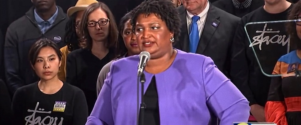 (Photo courtesy of Amazon Studios) Stacey Abrams, a voter-rights advocate who ran for governor of Georgia in 2018, is profiled in the documentary All In: The Fight For Democracy.