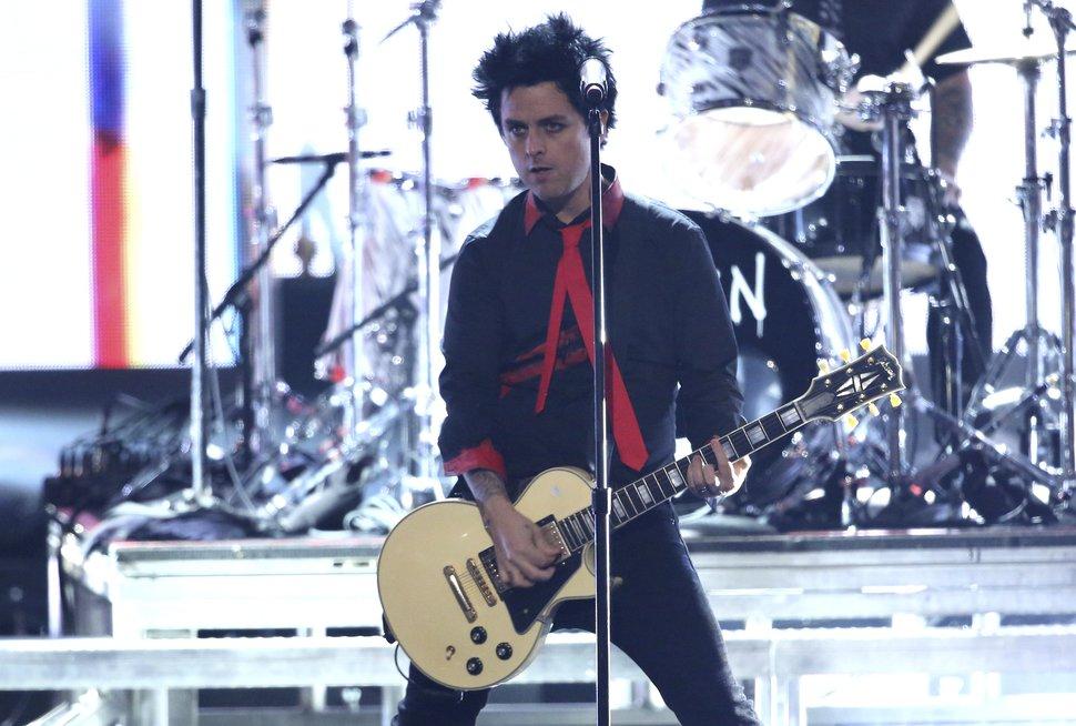 AP file photo Green Day's Billie Joe Armstrong