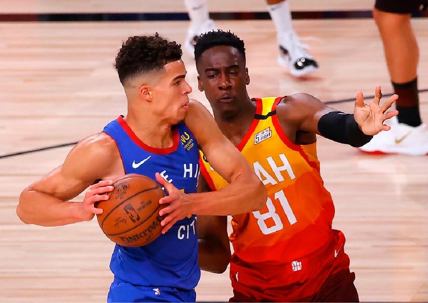 Utah Jazz Waste Near Perfect First Half Drop 2ot Thriller To Nuggets 134 132 The Salt Lake Tribune