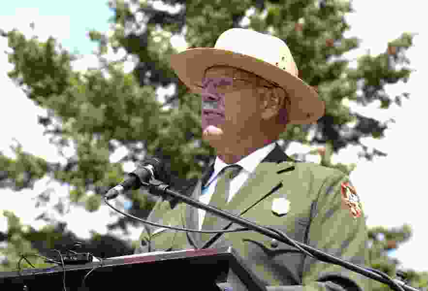 Yellowstone's leader announced his retirement last week. Now, he says the Trump administration is forcing him out months early after clashes over park's bison plan.