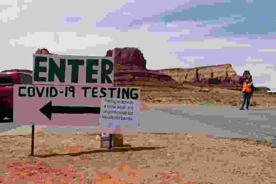 Navajo Nation has a higher coronavirus testing rate than Utah and most states