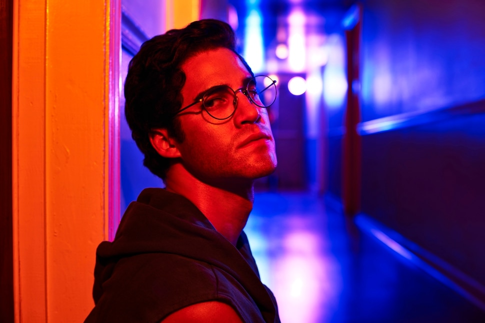 "(Courtesy of Pari Dukovic/FX) Darren Criss stars as Andrew Cunanan in ""The Assassination of Gianni Versace: American Crime Story."""