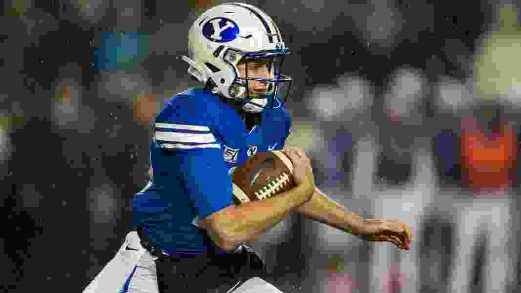 BYU coaches not tipping hand on who will start at quarterback against Utah State