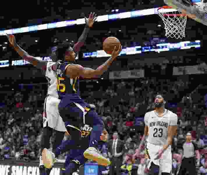 Rookie Donovan Mitchell's surge lifts Jazz to 116-99 victory over Pelicans