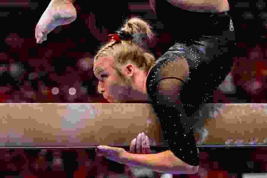 Utah gymnastics team beats UCLA as Utes set school record on balance beam, led by Abby Paulson's 10.0