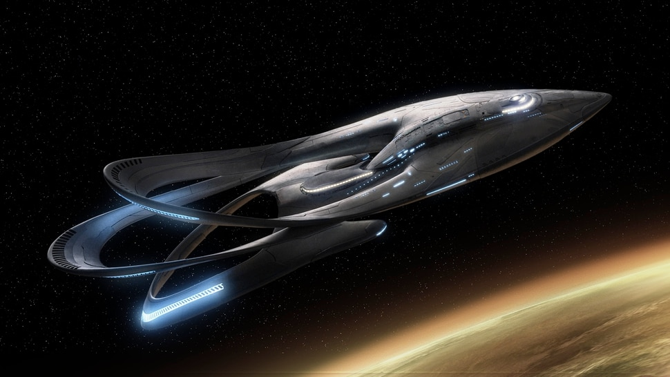 Image result for picture of the orville spaceship