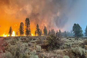 (U.S. Forest Service via The New York Times)   The West Is on Fire. It's Past Time to Act on Climate Change.