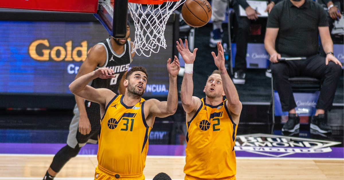 Photo of Not sharp? Utah Jazz slice and dice Kings, total a franchise-record 154 points   The Salt Lake Tribune