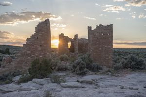 (Chris Wonderly/National Park Service, via AP) Hovenweep Castle at Hovenweep National Monument on the Colorado-Utah border. Activists say Hovenweep's dark skies are in danger.