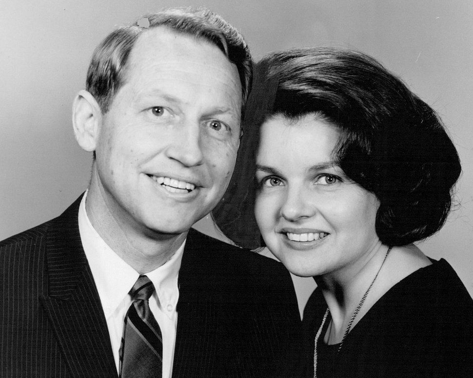 (Tribune file photo) Hartman Rector Jr. and his wife, Connie, in 1968.