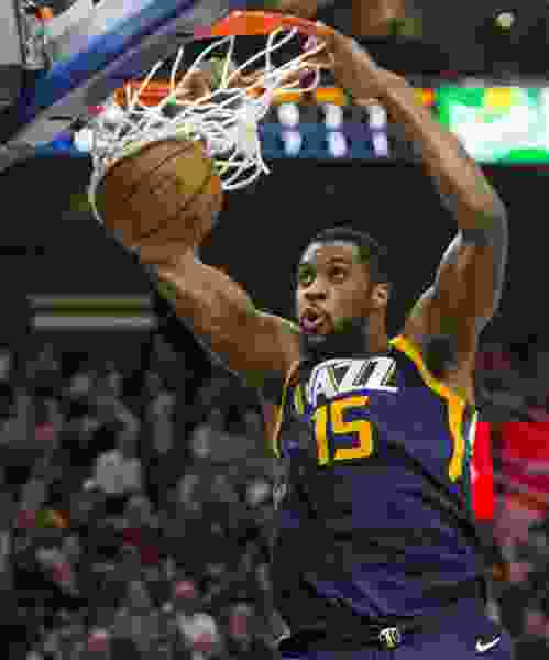 Free agent-to-be Derrick Favors finds his role with the Jazz, says 'I would love to come back and be a part of this team' while leaving open his options