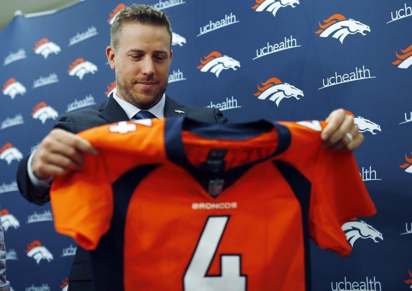 watch 91560 24f19 Broncos GM Elway gets his man, Case Keenum - The Salt Lake ...