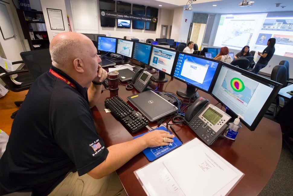 Hurricane Harvey Slams Into Texas Gulf Coast Unleashing Punishing