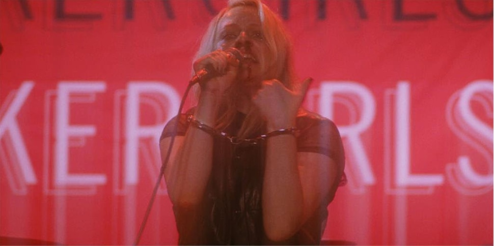 (Photo courtesy of Gunpowder & Sky) Elisabeth Moss plays Becky Something, a punk rock star spiraling out of control, in director Alex Ross Perry's drama Her Smell.
