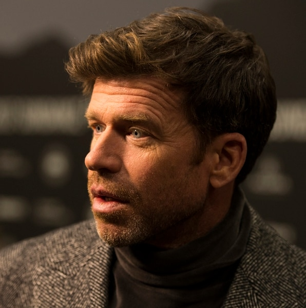 Rick Egan | The Salt Lake Tribune Writer/director, Taylor Sheridan, at the Eccles Theatre for the world premiere of ÒWind RiverÓ at the 2017 Sundance Film Festival in Park City, Saturday, January 21, 2017.