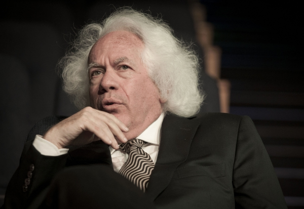 FILE - In this June 9, 2013 file photo, literary editor Leon Wieseltier poses for a photograph in Tel Aviv, Israel. The Atlantic magazine is removing contributing editor Leon Wieseltier from its masthead after allegations emerged this week that Wieseltier harassed numerous women during his years with The New Republic. (AP Photo/Dan Balilty, File)