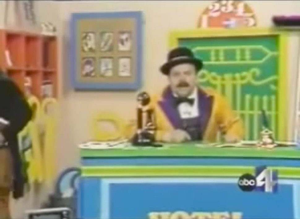 (Courtesy of ABC 4) Larry John, known as Cannonball on the children's TV show Hotel Balderdash. John, who died Feb. 19, 2018, in Mesa, Arizona, resurrected the '70s TV show for the internet in recent years.