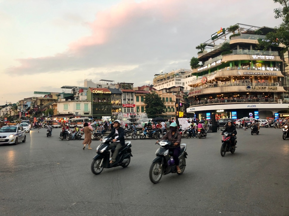 (Mike Stack for The Salt Lake Tribune) Street scenes central Old Quarter in Hanoi, Vietnam