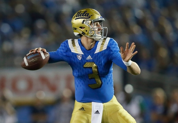 UCLA's Josh Rosen Ruled Out for Saturday's Clash