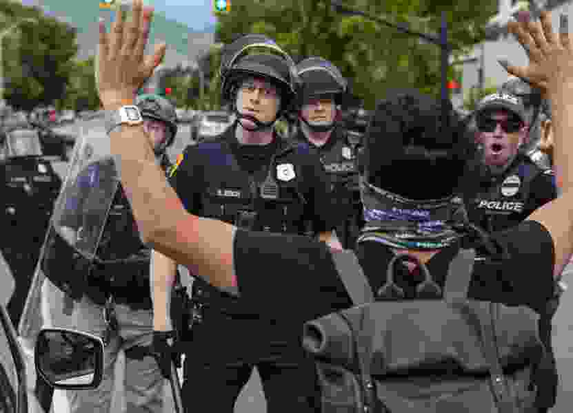 'Outsiders' coming to Salt Lake City to make trouble? Nope, nearly all of the protesters arrested are from Utah.