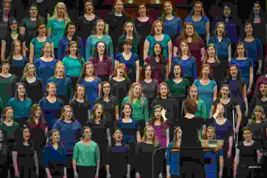 LDS Church creating new hymnbooks for Mormon adults children around the world, so national anthems won't be included