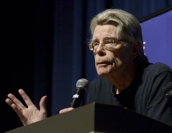 (Leah Hogsten | The Salt Lake Tribune) Stephen King reads from his novel,
