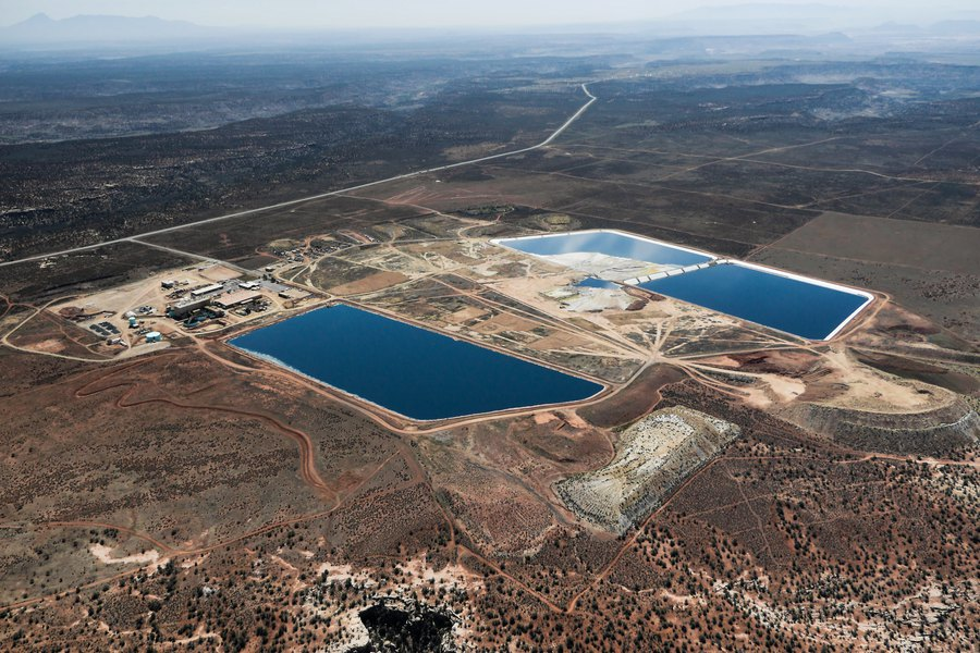 The Water Around A Utah Uranium Mill Is Growing More Polluted What