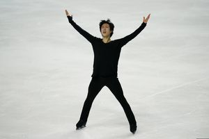 (John Locher | AP) Nathan Chen performs during the men's free skate at the U.S. Figure Skating Championships, Sunday, Jan. 17, 2021, in Las Vegas. This week he will participate in the virtual parade for President-elect Joe Biden's inauguration.