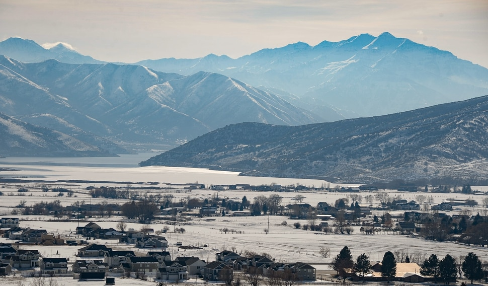 (Francisco Kjolseth | The Salt Lake Tribune) Midway residents are trying to convince Rocky Mountain Power to bury part of a transmission line the utility wants to build through the scenic Heber Valley town. They are even willing to covering the cost, but the utility is challenging the town's requirement that the new line go underground.