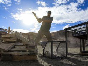 "(Photo courtesy of CBS) Utahn Scott Henry competes on ""Tough as Nails."""