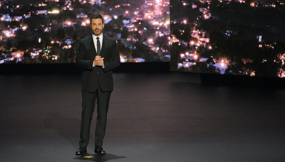 (Photo courtesy of Pawel Kaminski/ABC) Jimmy Kimmel will host the socially distanced 72nd annual Primetime Emmy Awards.