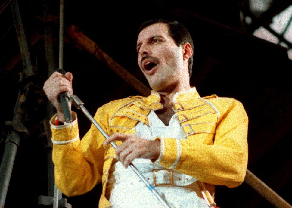 AP file photo Queen lead singer Freddie Mercury