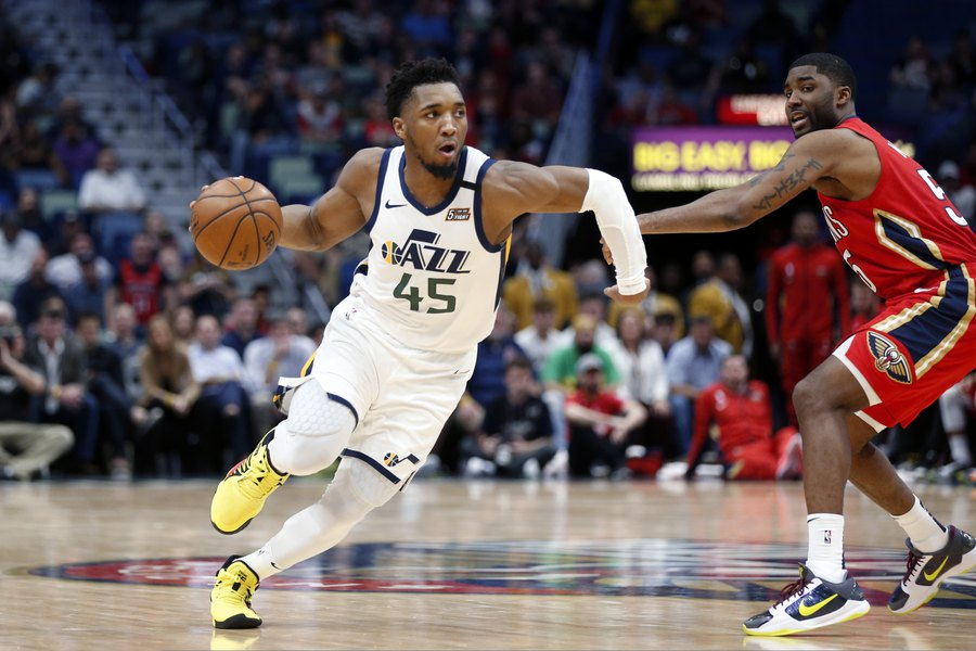 The Triple Team: Questionable calls sully terrific performances from Donovan Mitchell and Brandon Ingram in Jazz loss