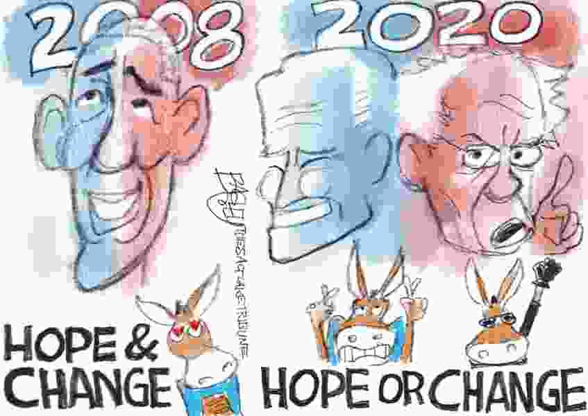 Bagley Cartoon: Hope and Change